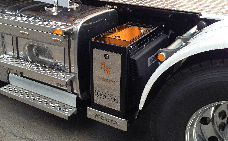 installation showcase lubecore australasia geoff richards refrigerated transport